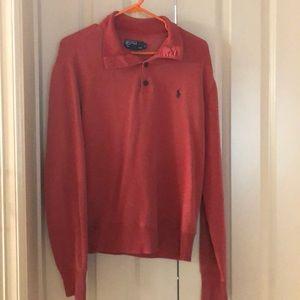 Men's Polo Sweatshirt